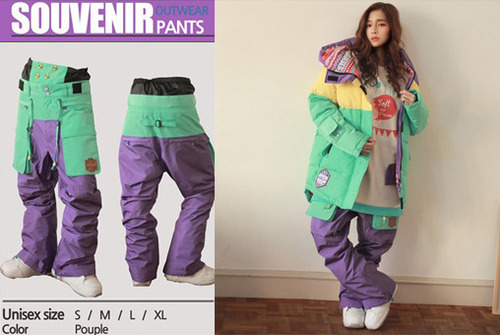 [NApPING]Souvenir Pants6 (수버니어6-purple)