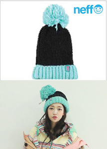 [NEFF] Womens Beanies Sofia Black/Blue