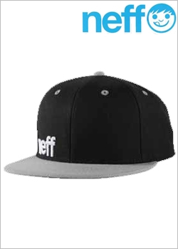 [NEFF] CAPS daily cap Black/Gray/White