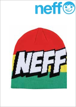 [NEFF] BEANIES Cartoon Rasta