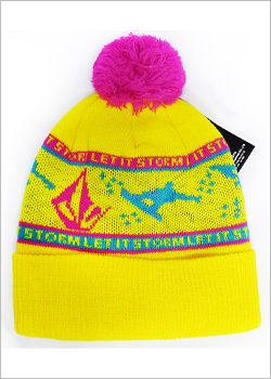 [VOLCOM] LET IT STORM BEANIE / TAXI CAB