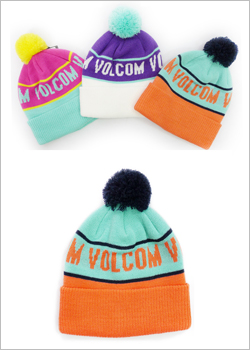 [VOLCOM] LOVE BEANIE / PASSION FRUIT