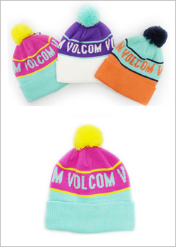 [VOLCOM] LOVE BEANIE / BERRY BLUE