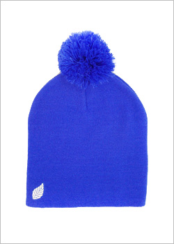 [ELM] The Pom Pom Resevoir Beanie - royal blue